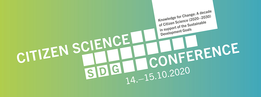 Last chance to register to the Citizen Science SDG Conference